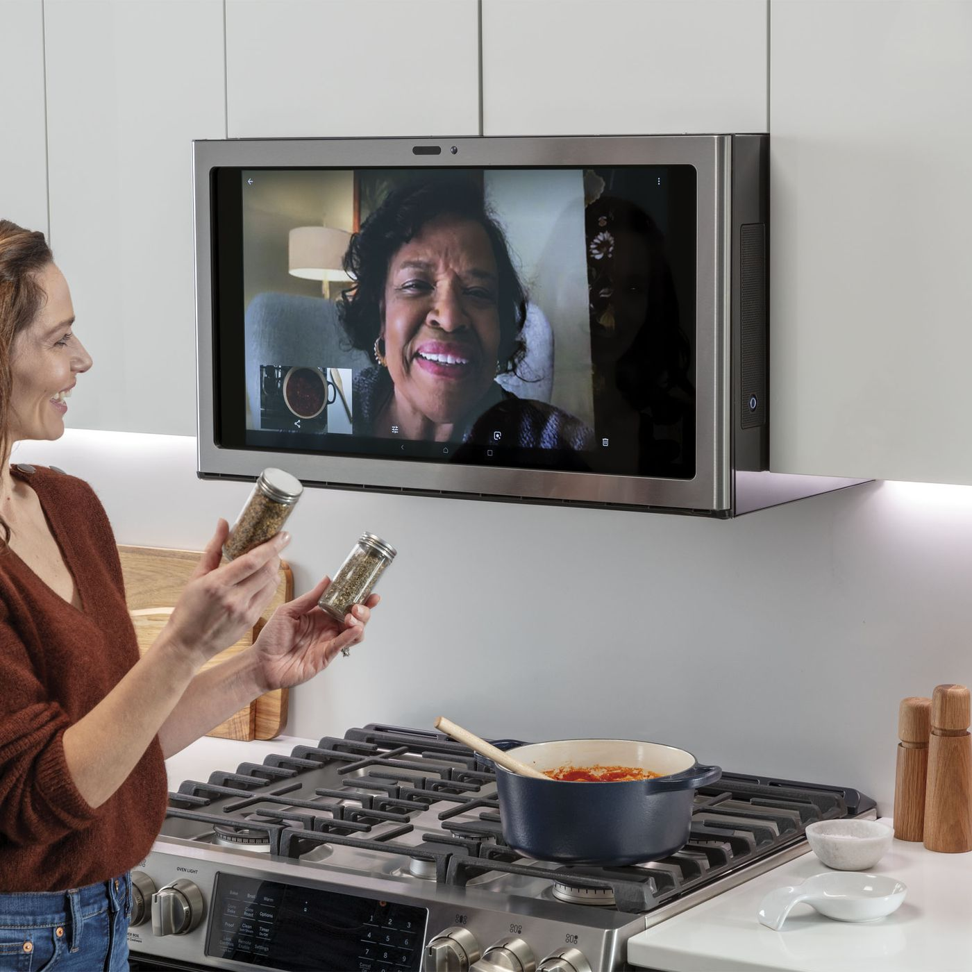 Ge Kitchen Hub A Smart Display For
