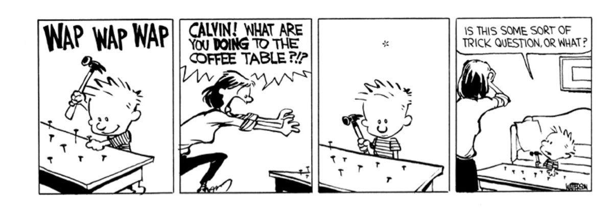 Calvin And Hobbes Were Even More Destructive Than You