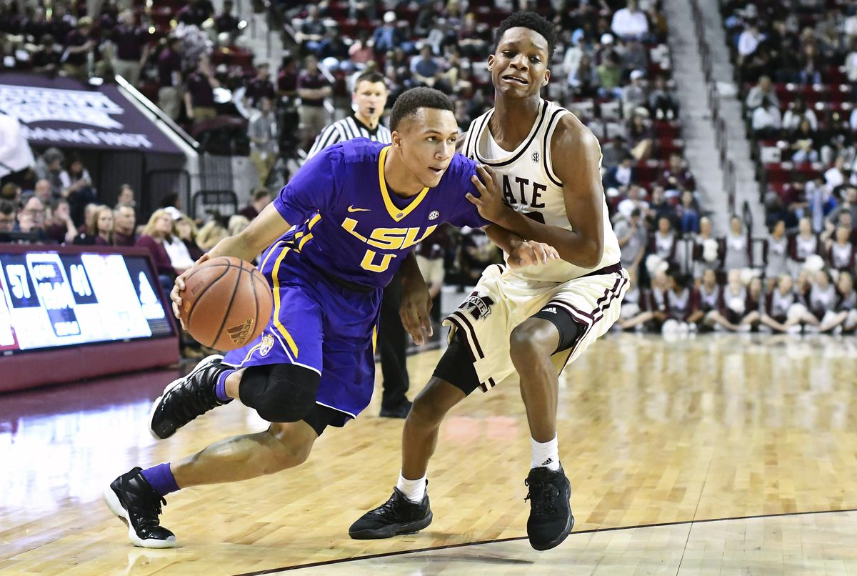 NCAA Basketball: Louisiana State at Mississippi State