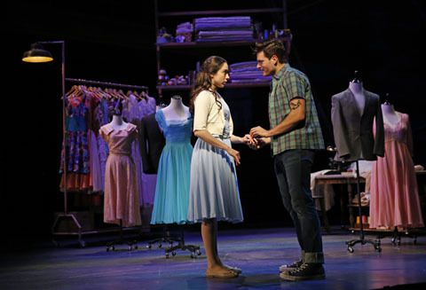 """Zoe Nadal played Maria and Will Skrip was Tony in """"West Side Story,"""" at Aurora's Paramount Theatre. (Photo: Liz Lauren)"""