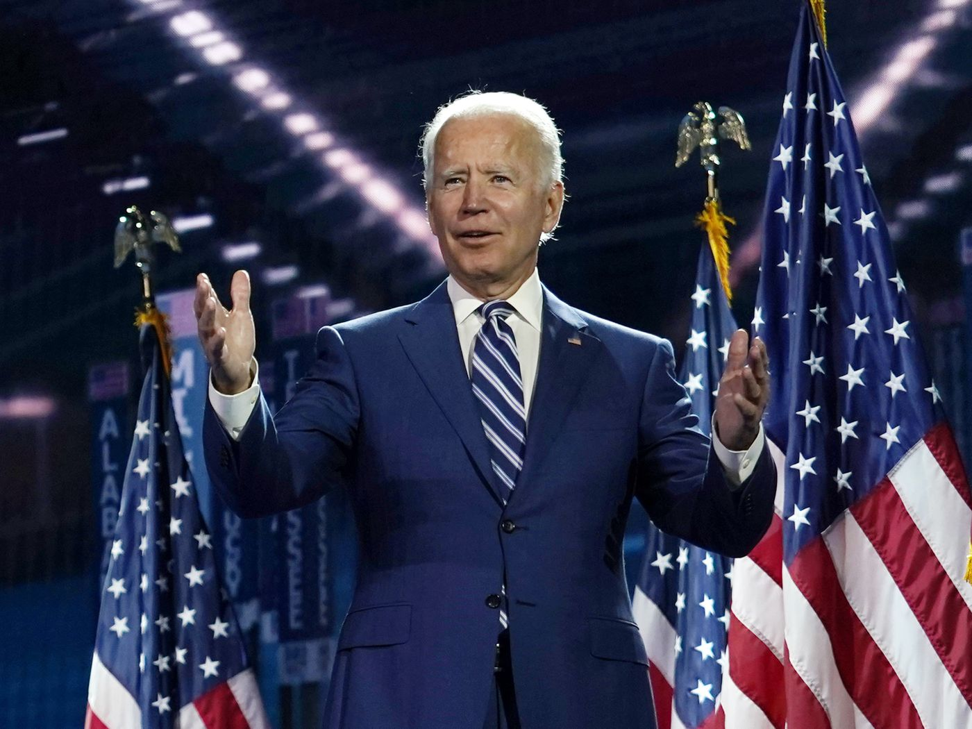 Joe Biden Accepts Nomination Former Vp Seeking Party National Unity In Convention Climax Chicago Sun Times