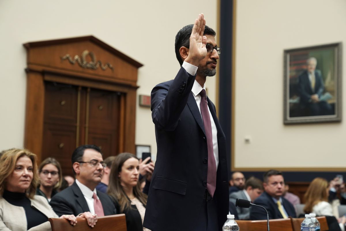 Google CEO Sundar Pichai refused to rule out launching a censored search engine in China