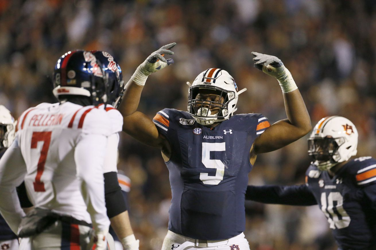 NCAA Football: Mississippi at Auburn