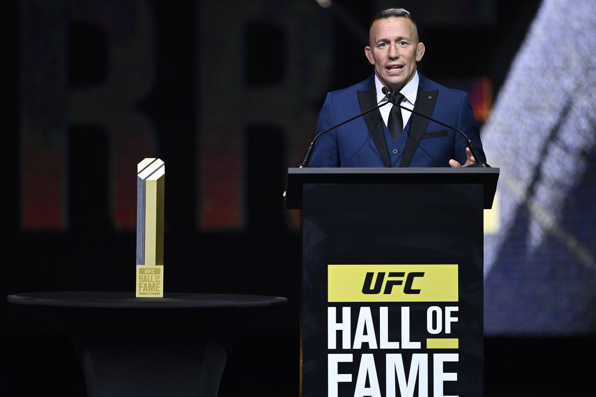 UFC Hall of Fame Class of 2020 Induction Ceremony