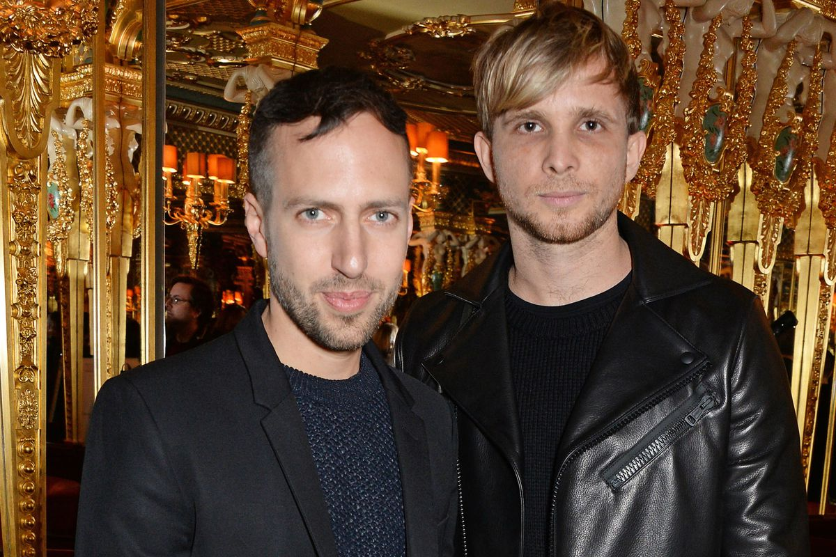 Peter Pilotto and Christopher de Vos of Peter Pilotto. Photo via Getty Images.