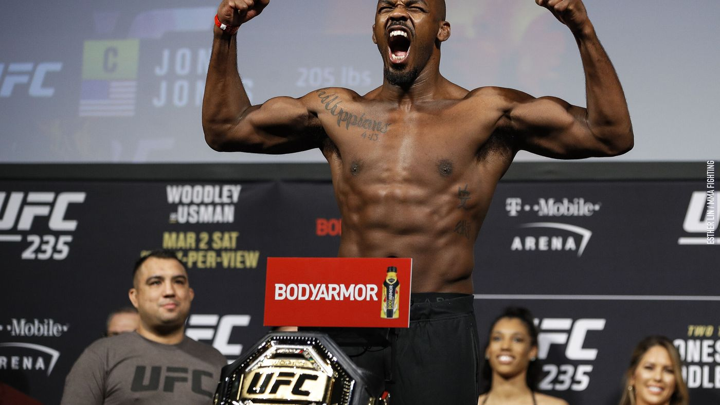 Jon Jones confident Francis Ngannou fight will happen sooner or later: 'I  think the UFC eventually will do the right thing' - MMA Fighting