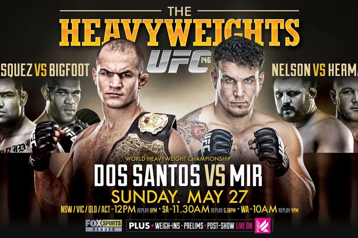Ufc 146 betting guide free monday night football betting picks