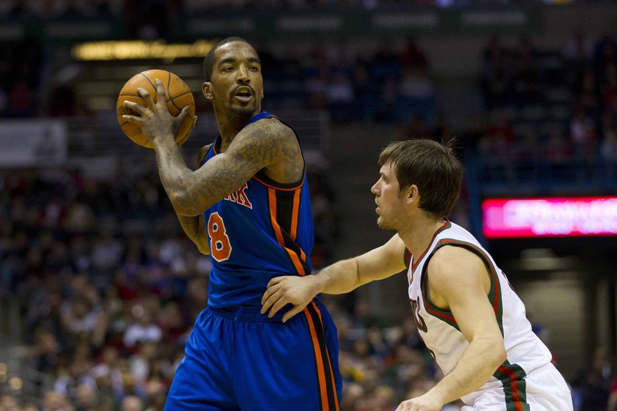 J.R. Smith is one tough cookie to figure out. Jeff Hanisch-US PRESSWIRE
