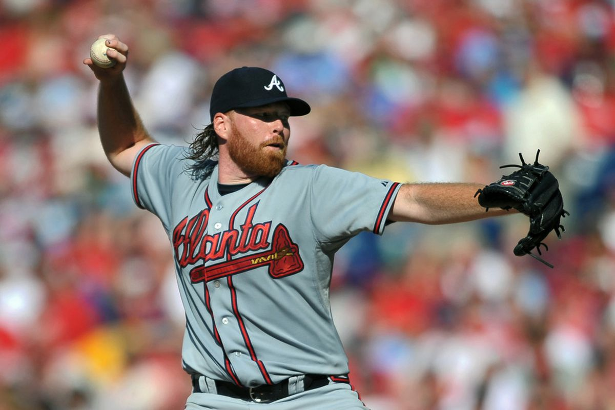One stat that doesn't show up on FanGraphs: Tommy Hanson is 30-0 with a 0.00 ERA in starts with the magic mullet.
