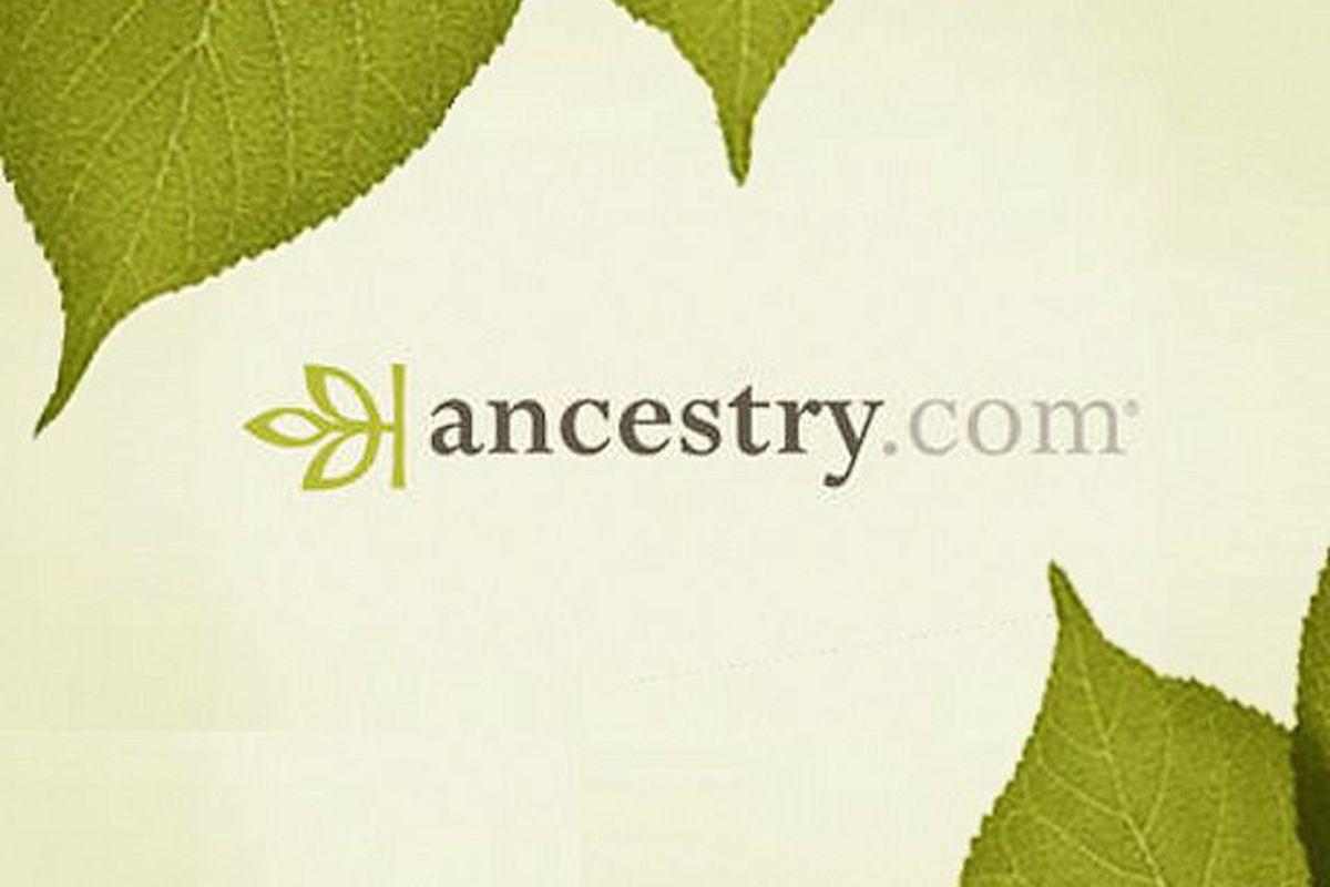 Genealogy Website Ancestry.com Explores Sale