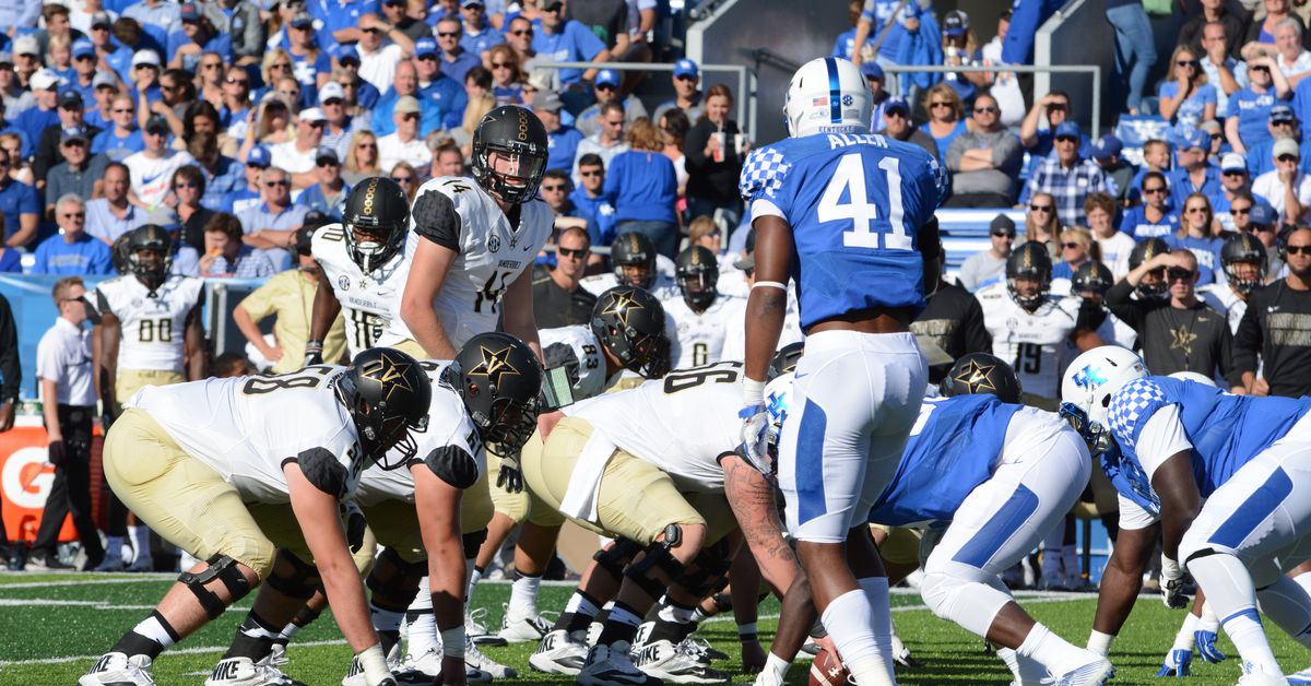 Kentucky Football vs. Vanderbilt Commodores game time and TV channel announced f...