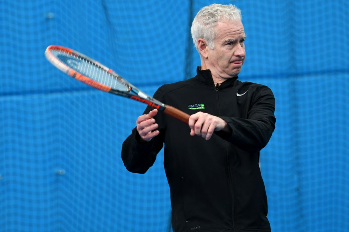 the controversy started when mcenroe got himself into trouble with a clumsy npr interview