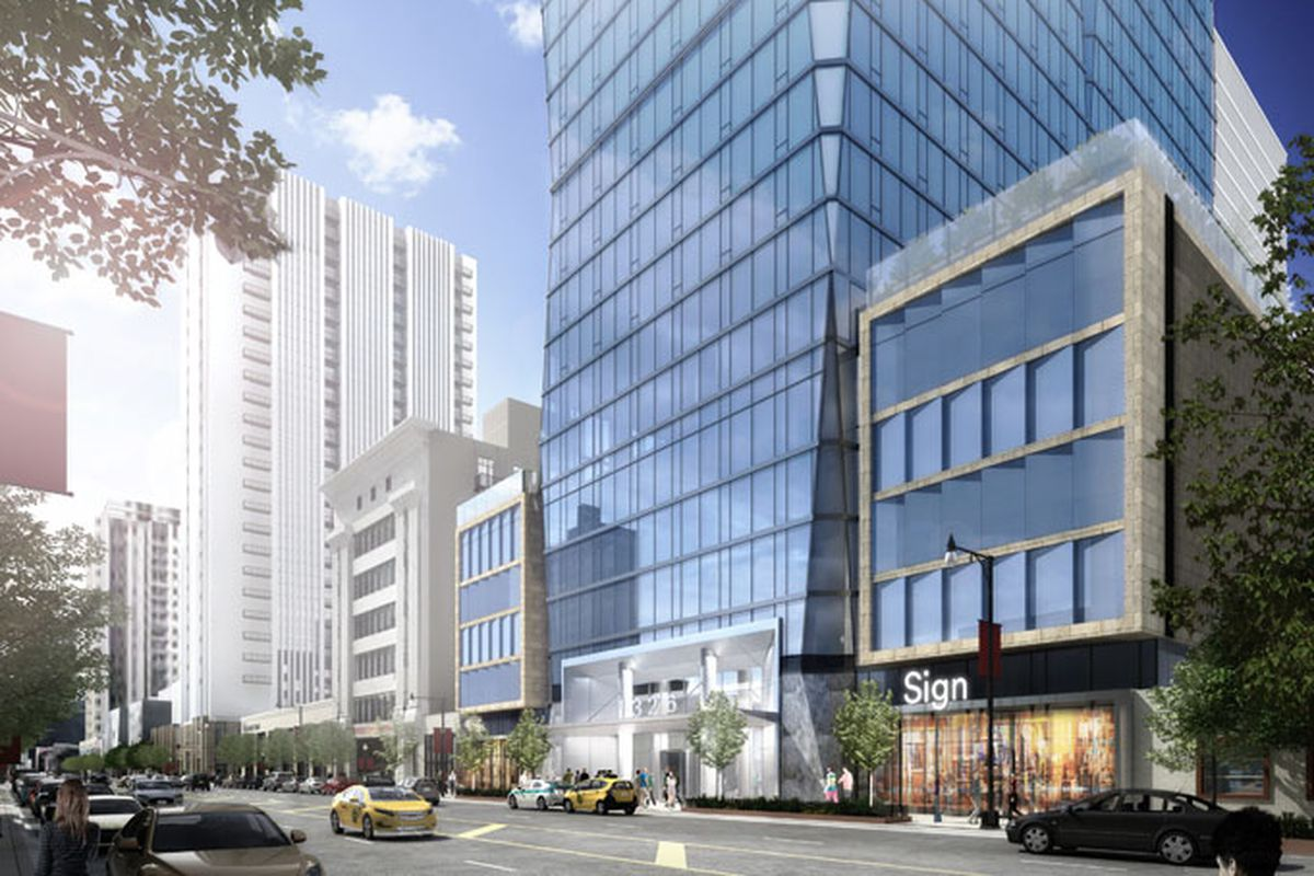 47 Story S Michigan Avenue Apartment Tower Lands Full 119m Building Permit