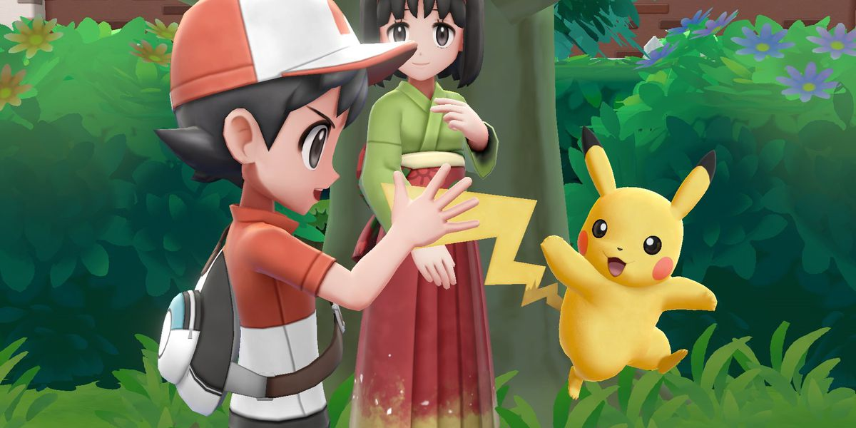 Pokemon Let S Go Co Op Play Makes The Game Very Easy Polygon