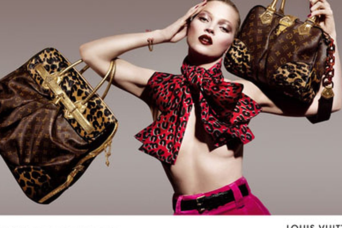 """Consumers continue to be extremely eager to buy anything from Vuitton. Image via <a href=""""http://www.coutureinthecity.com/2008/04/18/todays-couture-louis-vuitton/"""">Couture in the City</a>."""