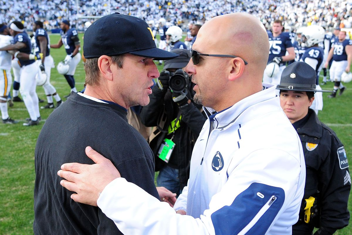 Jim Harbaugh and James Franklin, the technique's most prominent innovators