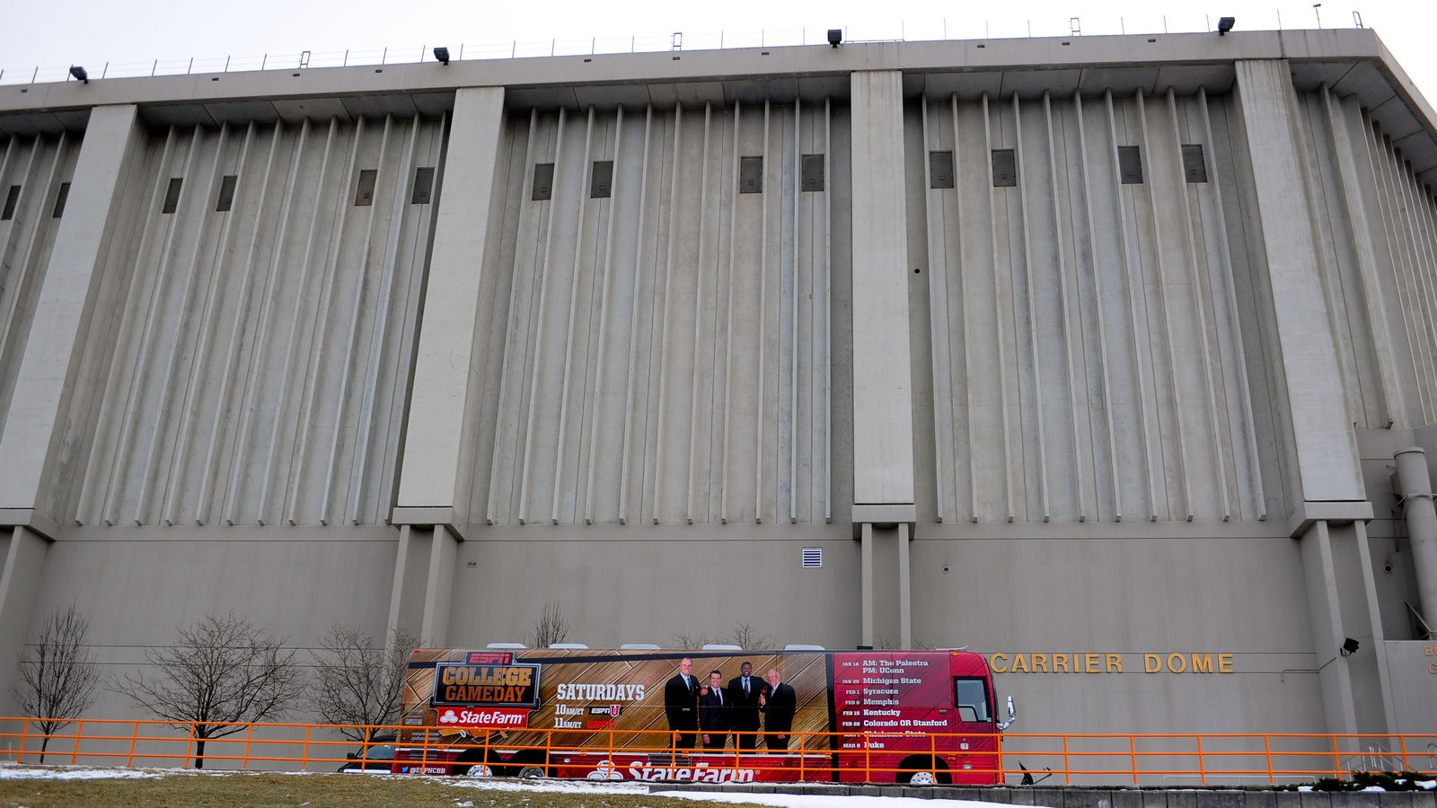 Carrier Dome Renovations Can Syracuse Build New Roof Over