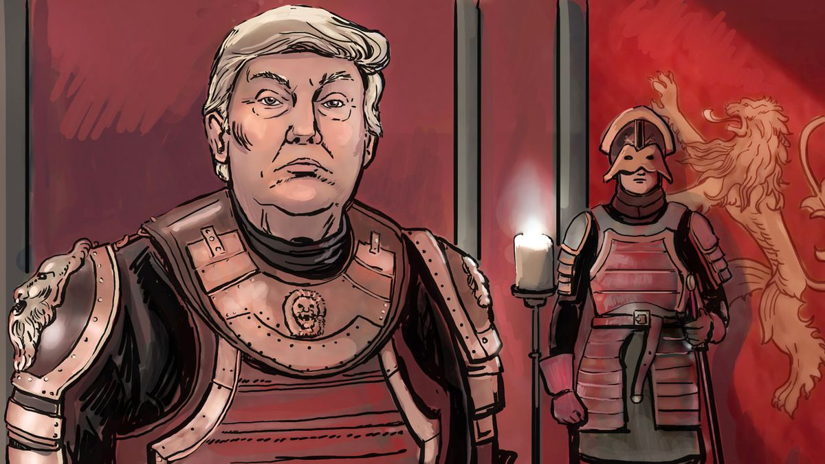 Donald Trump imagined as Tywin Lannister