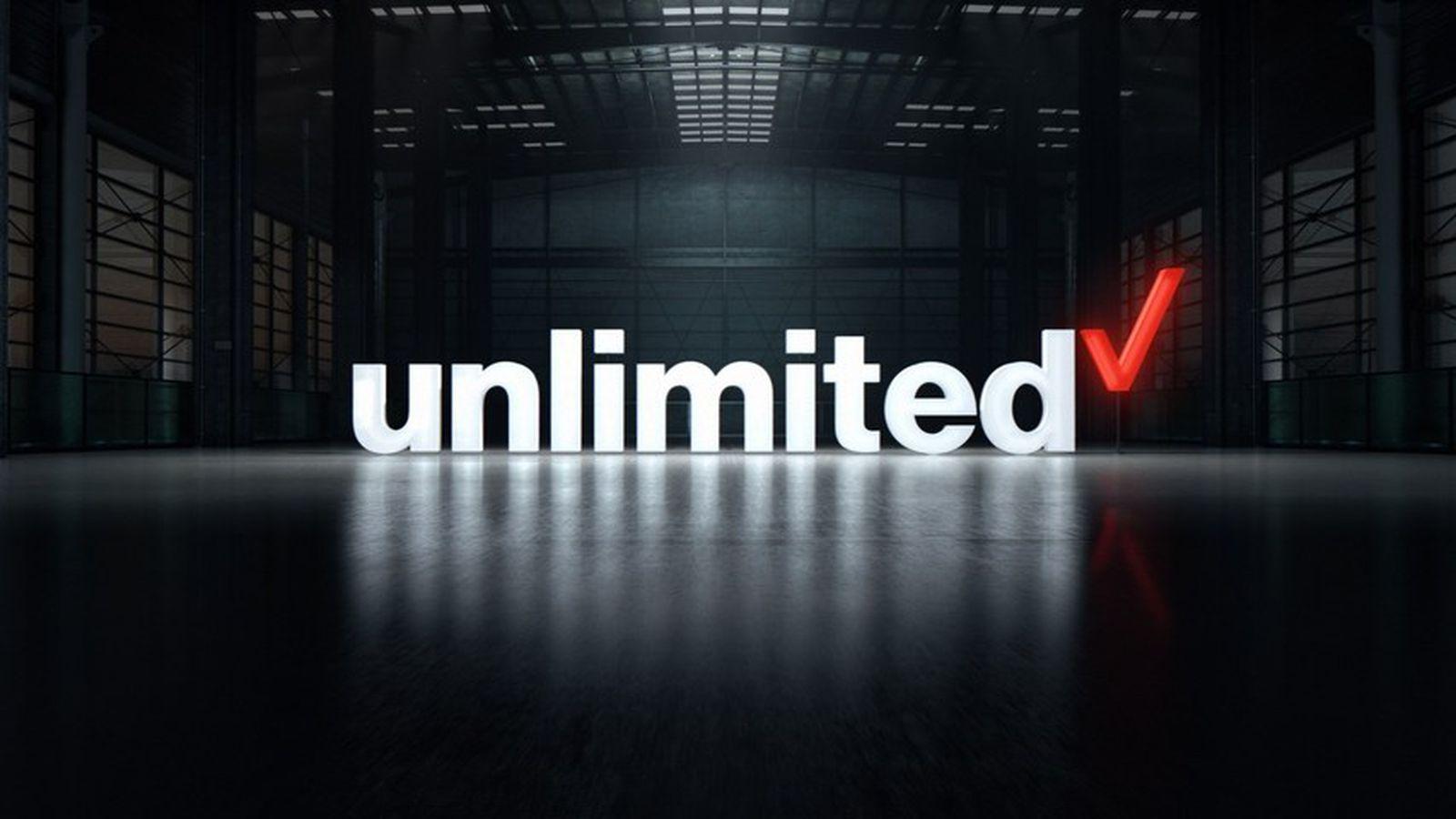 Verizon Announces New Unlimited Data Plan
