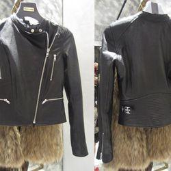 Leather jacket, $895