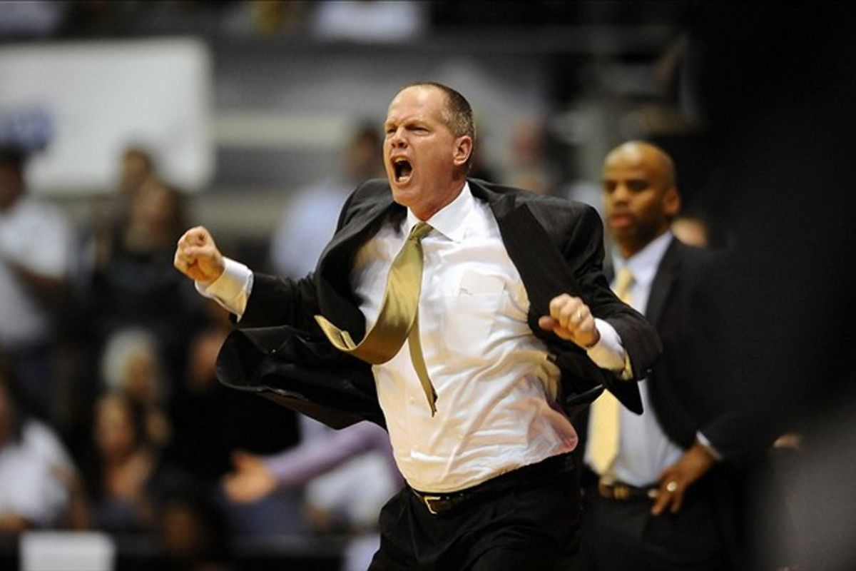 Colorado's Tad Boyle could give Dana Altman a run for his money in on-court enthusiasm.