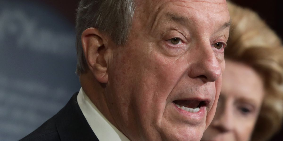 Durbin rejects GOP witness swap feelers as Trump impeachment defense concludes