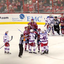 Tempers Flare After Galiev's Goal