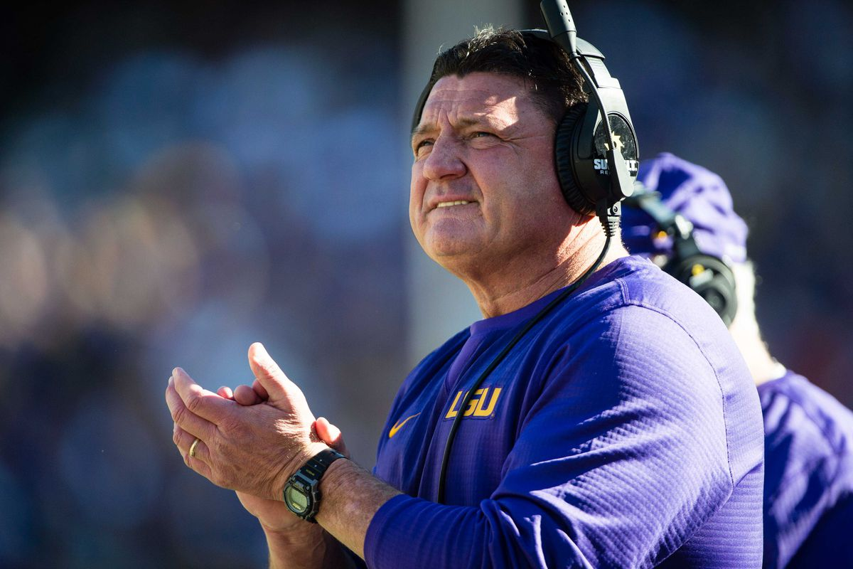 Syracuse for  Once LSU's Orgeron contender job, Ed a faces