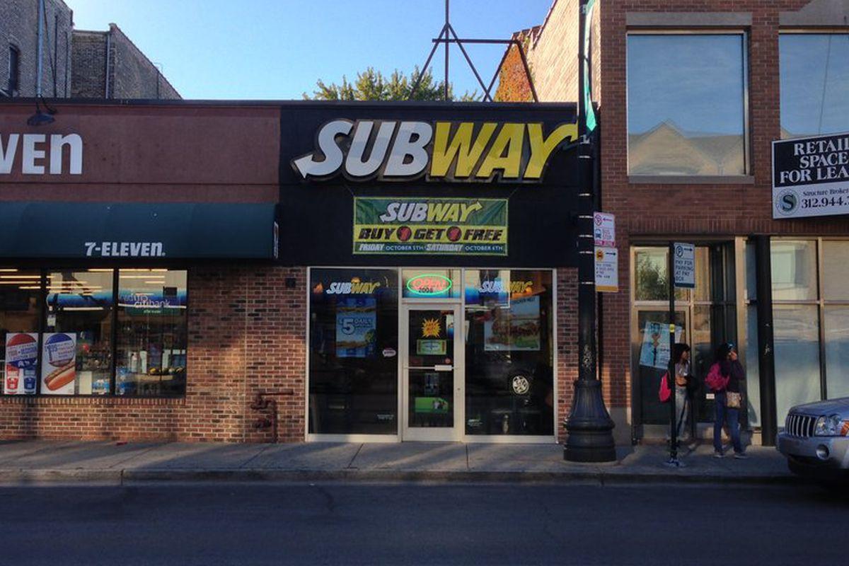 Subway at 2008 N. Halsted St.