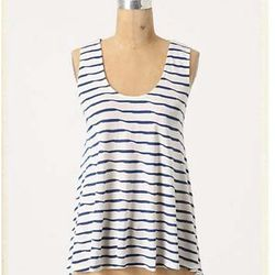 """<a href=""""http://www.anthropologie.com/anthro/product/shopsale-tops/24298929.jsp"""">Loosened Stripes Tank</a> $19.95, was $88"""