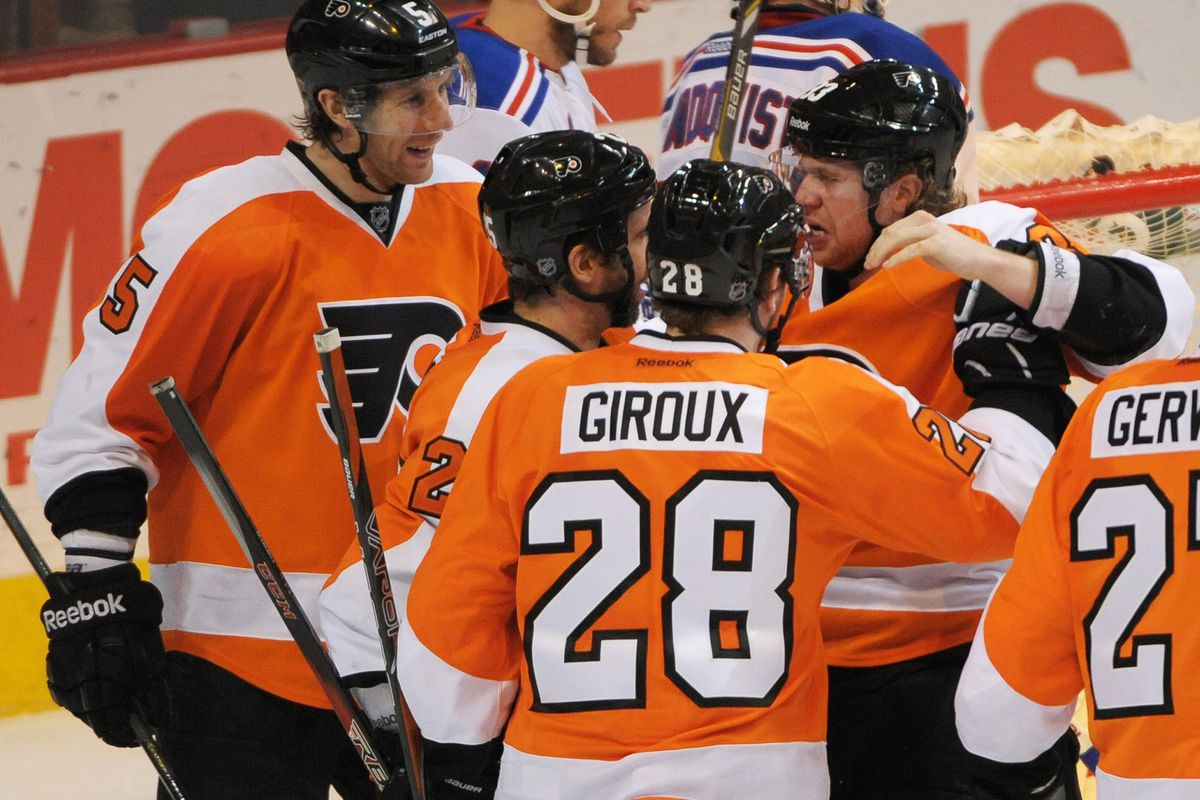 """""""Hey, guys, let's hang out here and laugh about how much ice time we get. What? No, not you, Bruno, get outta here."""""""