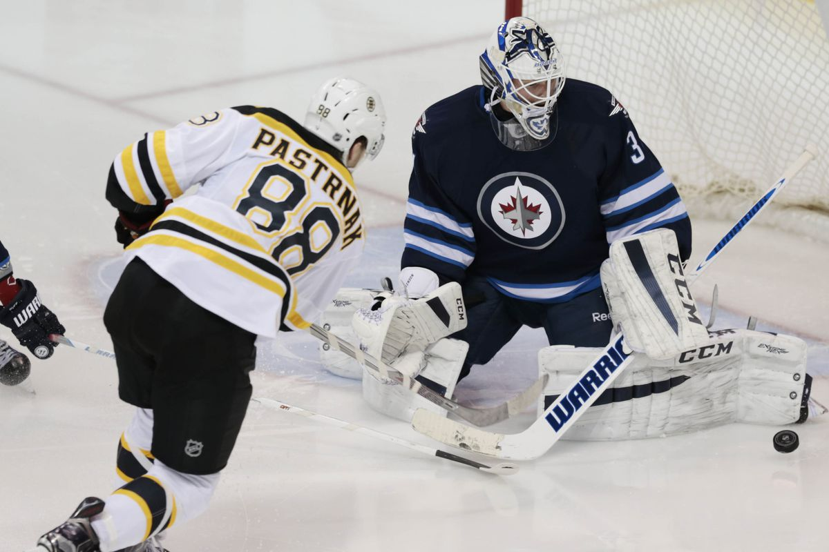 NHL: Boston Bruins at Winnipeg Jets