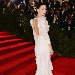 The back of Rooney Mara's gorgeous Givenchy gown
