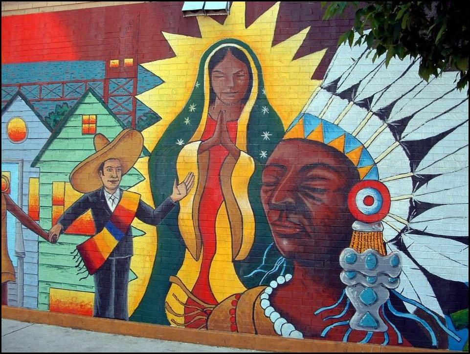 Gamaliel Ramirez mural at 90th and Commercial. | Provided photo