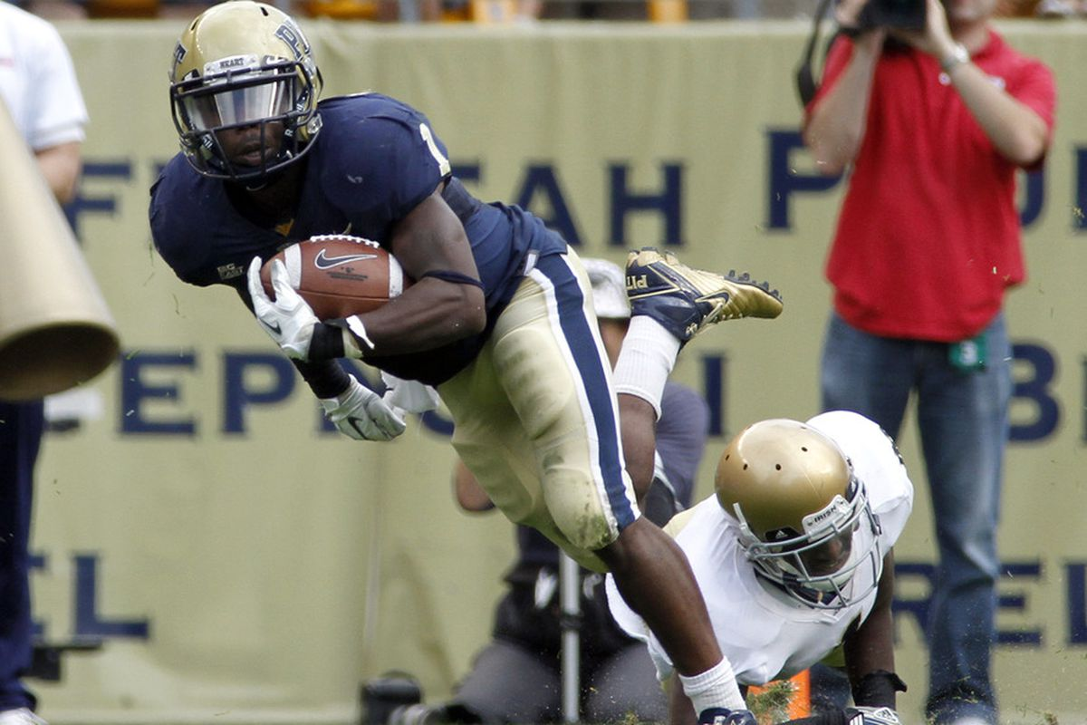 Ray Graham hopes to rack up yardage in 2012 (Photo by Justin K. Aller/Getty Images)