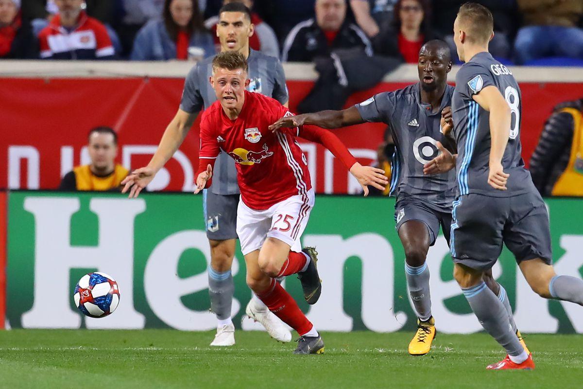 SOCCER: APR 06 MLS - Minnesota United FC at New York Red Bulls