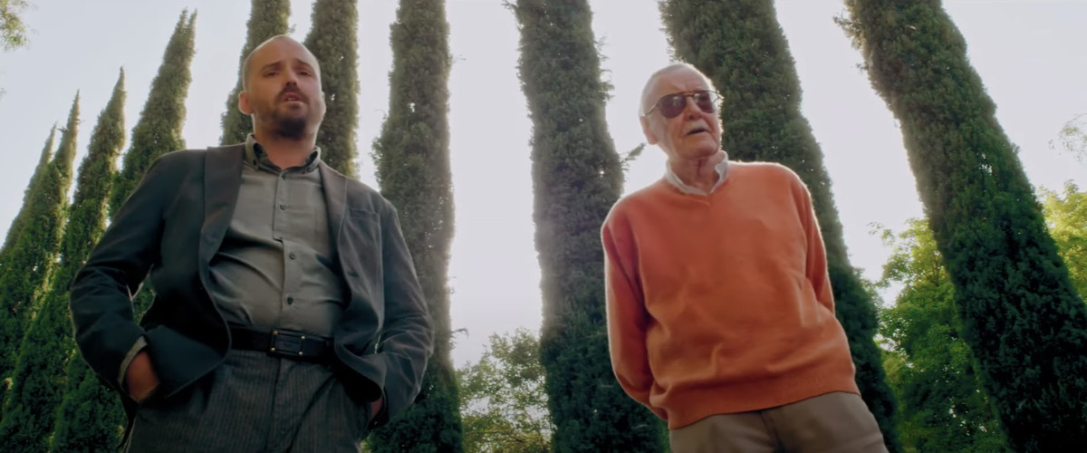 Stan Lee cameos in Madness in the Method (2019).