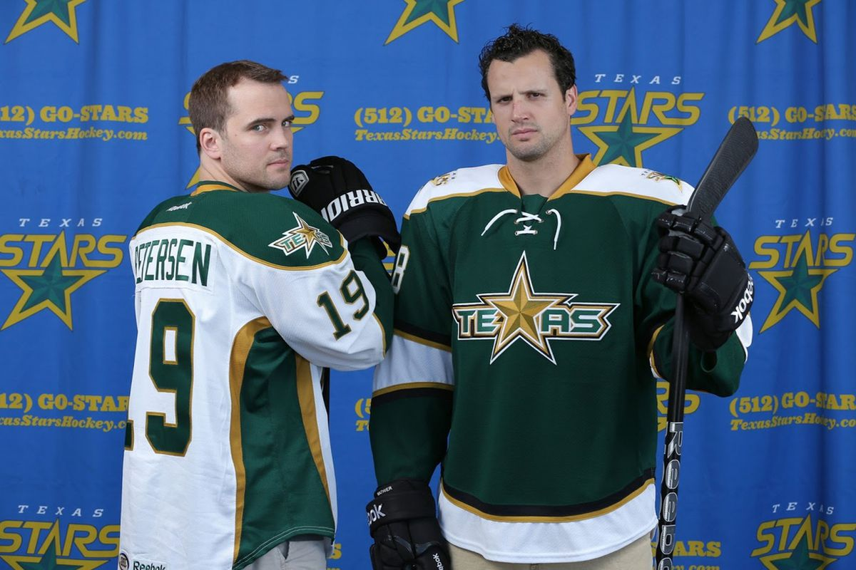 58996911942b Dallas Stars  AHL Affiliate Texas Unveils New Jersey Designs ...