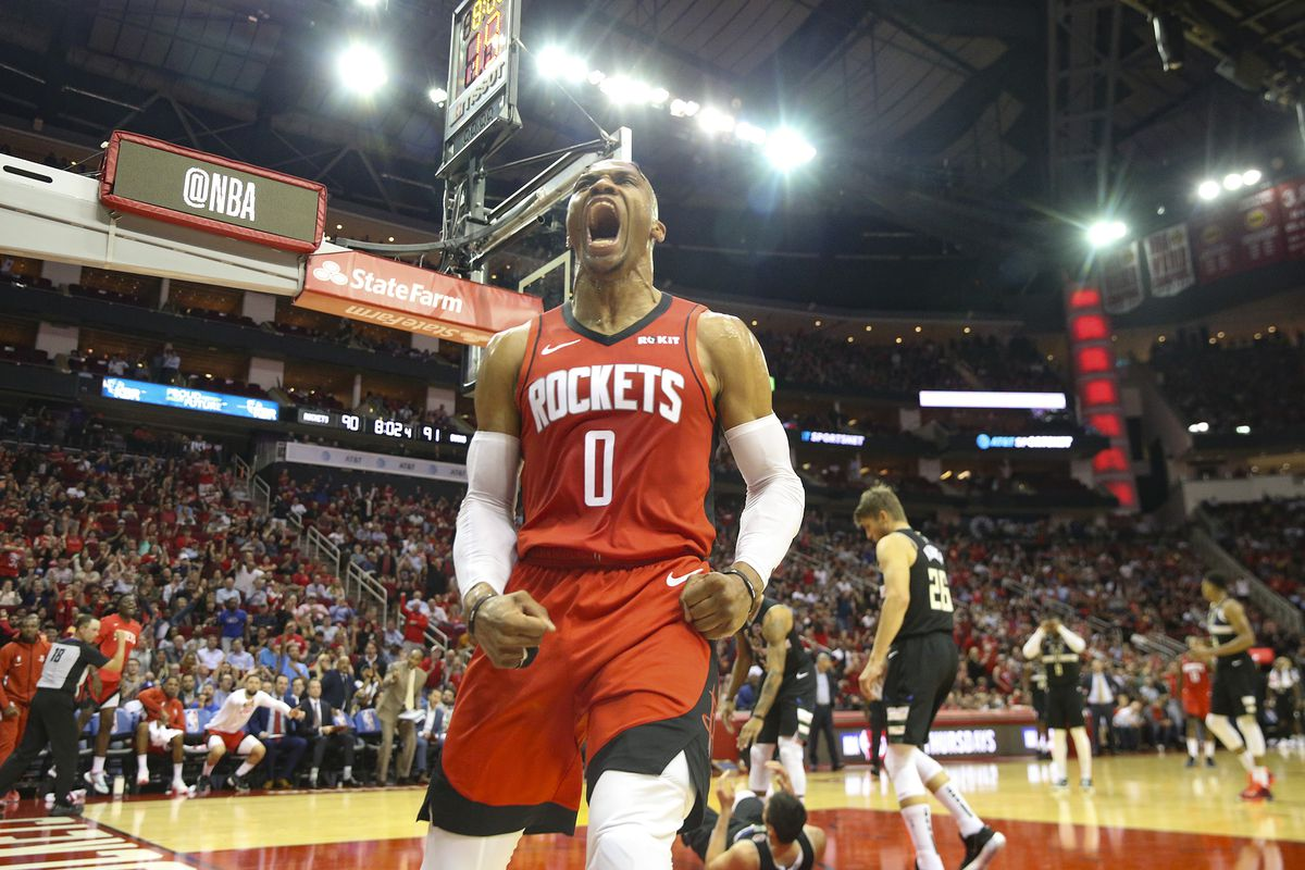 NBA: Milwaukee Bucks at Houston Rockets