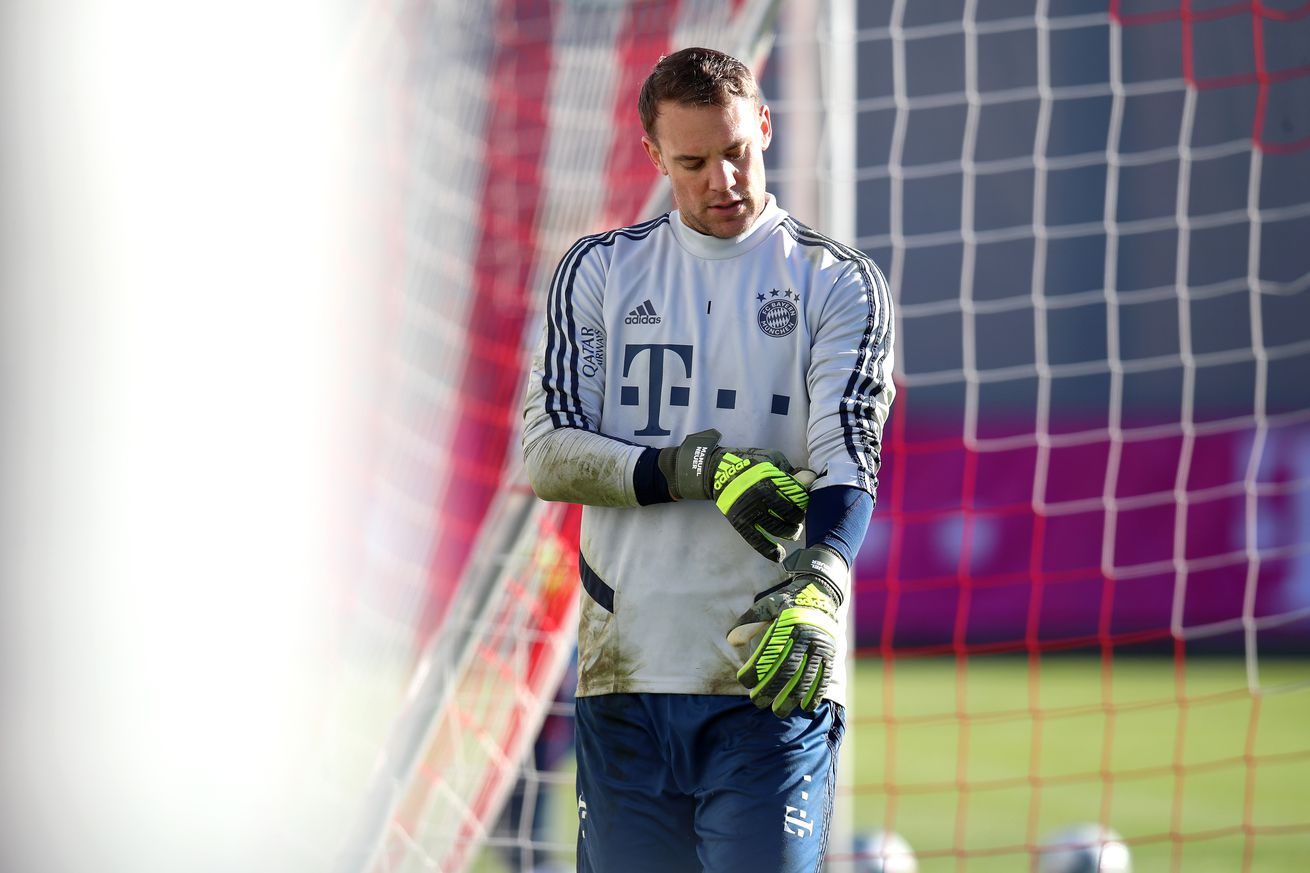 Manuel Neuer and his wife have reportedly separated