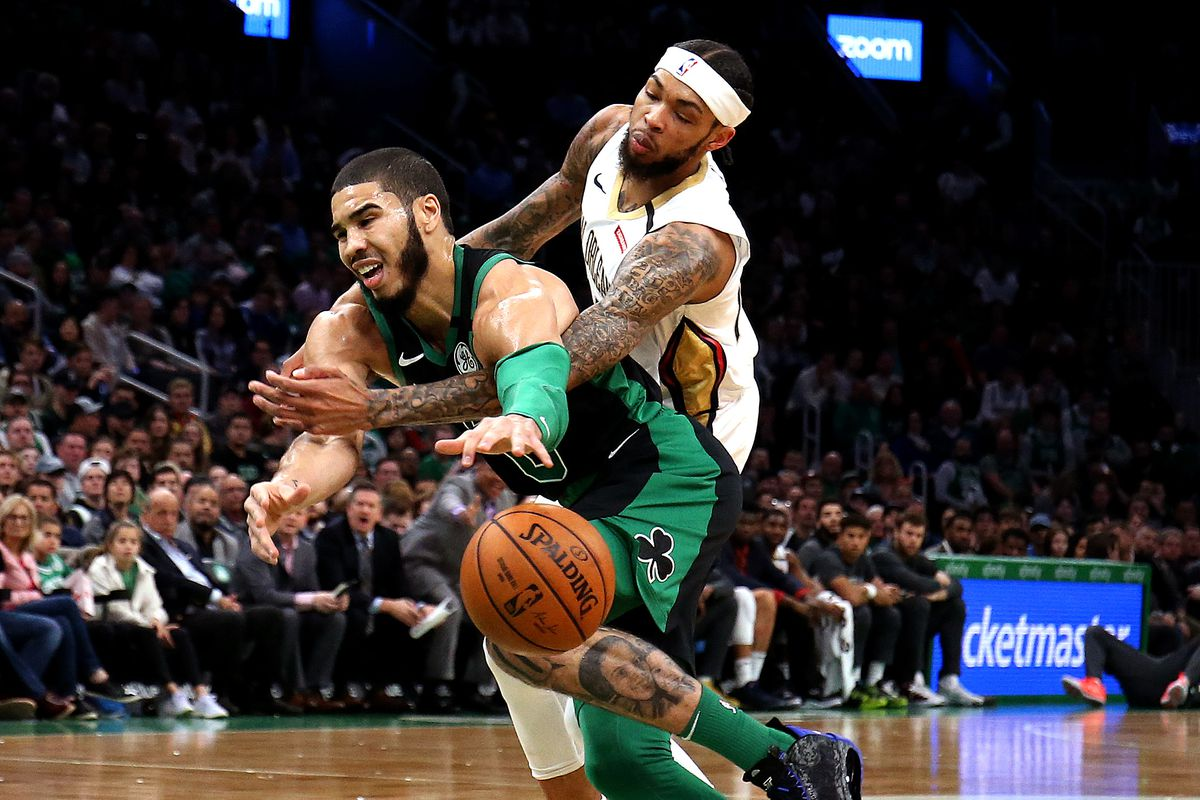 New Orleans Pelicans Vs. Boston Celtics at TD Garden