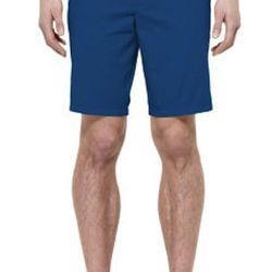 """<strong>Club Monaco</strong> Maddox Short in Sea Blue, <a href=""""http://www.clubmonaco.com/product/index.jsp?productId=21278116&ab=viewall"""">$69</a>"""