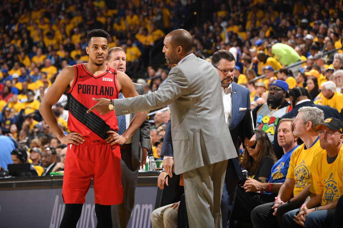 Western Conference Finals - Portland Trail Blazers v Golden State Warriors