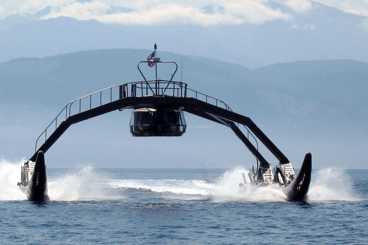 """The Proteus """"spider yacht"""""""