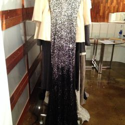 Beaded Gown, $495