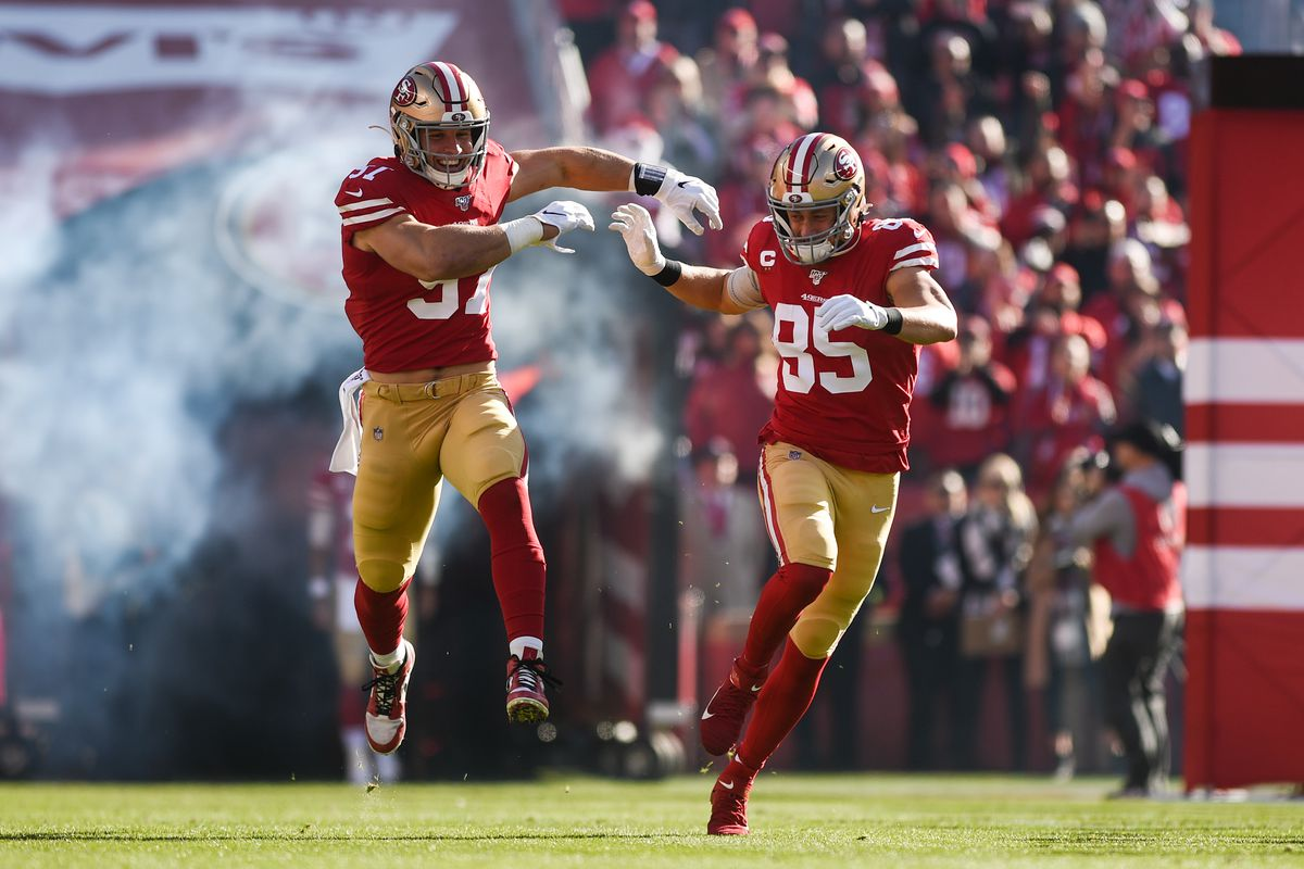 49ers projections: Can Bosa unseat Kittle as the best player on the team? -  Niners Nation