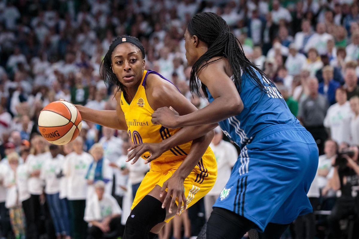 WNBA: Los Angeles Sparks at Minnesota Lynx