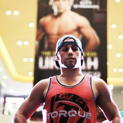 Urijah Faber during his open-workout in Manila