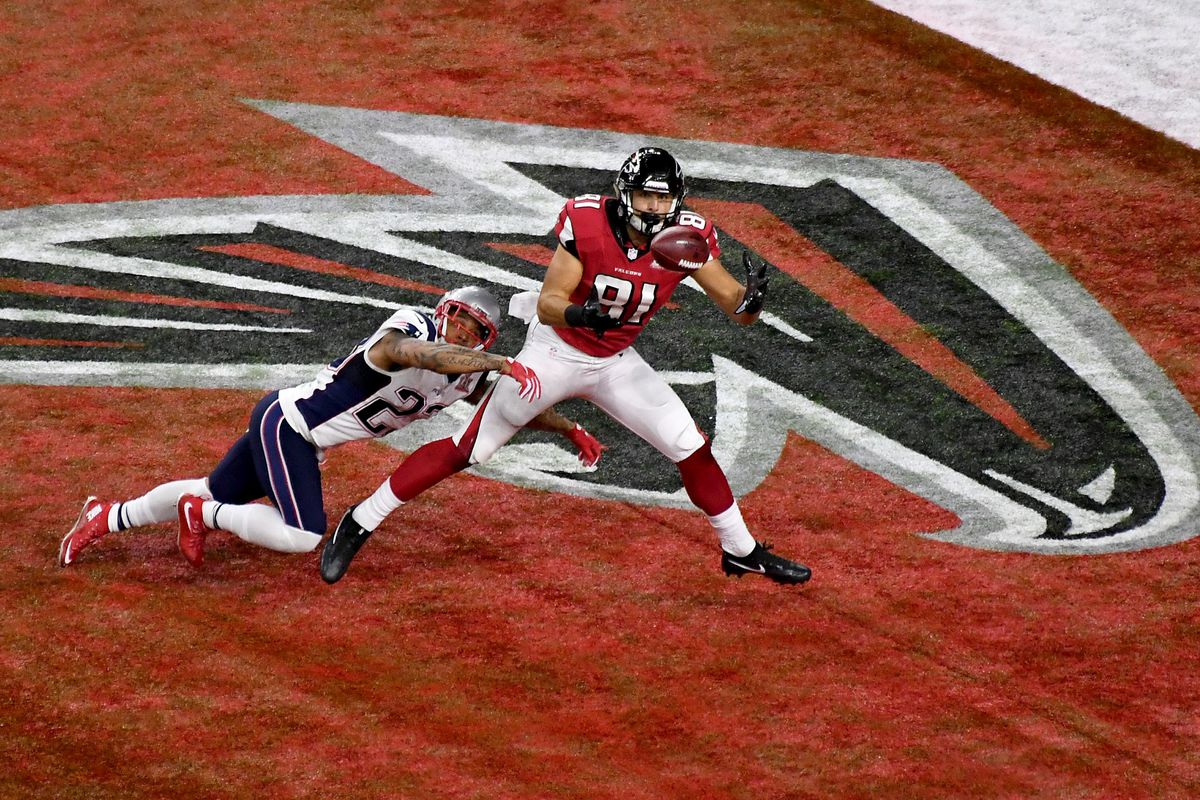498720aa8cd Falcons roster review: Tight ends - The Falcoholic