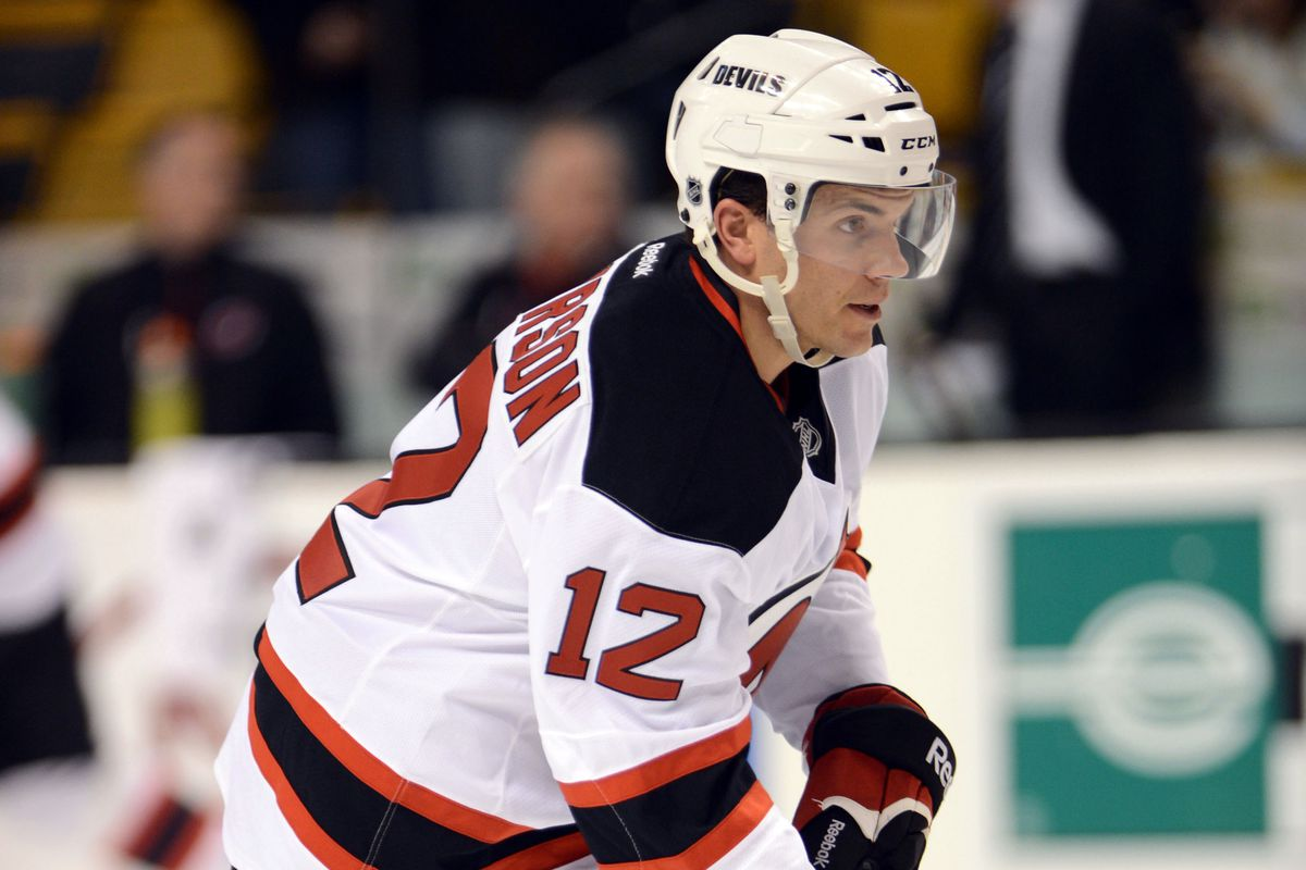 Matt Anderson making his NHL Debut as a 30-year-old rookie.